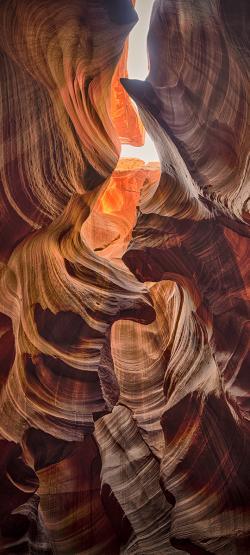 Duschrückwand aus Glas, Motiv Felsen