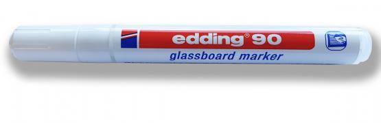 Glassboardmarker white